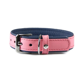 Hundehalsband Firenze Candy / Saphire 35cm /16mm