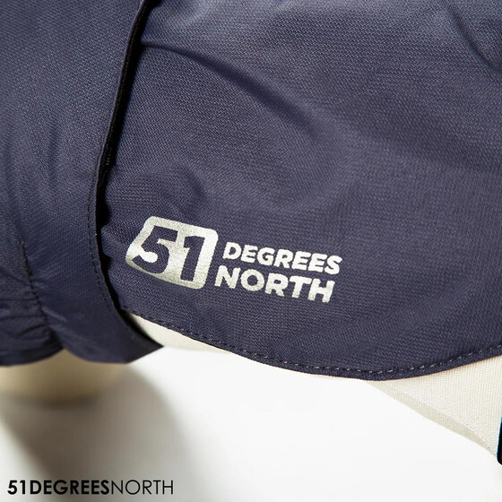 51 Degrees North Storm Coat 42cm dunkelgrau