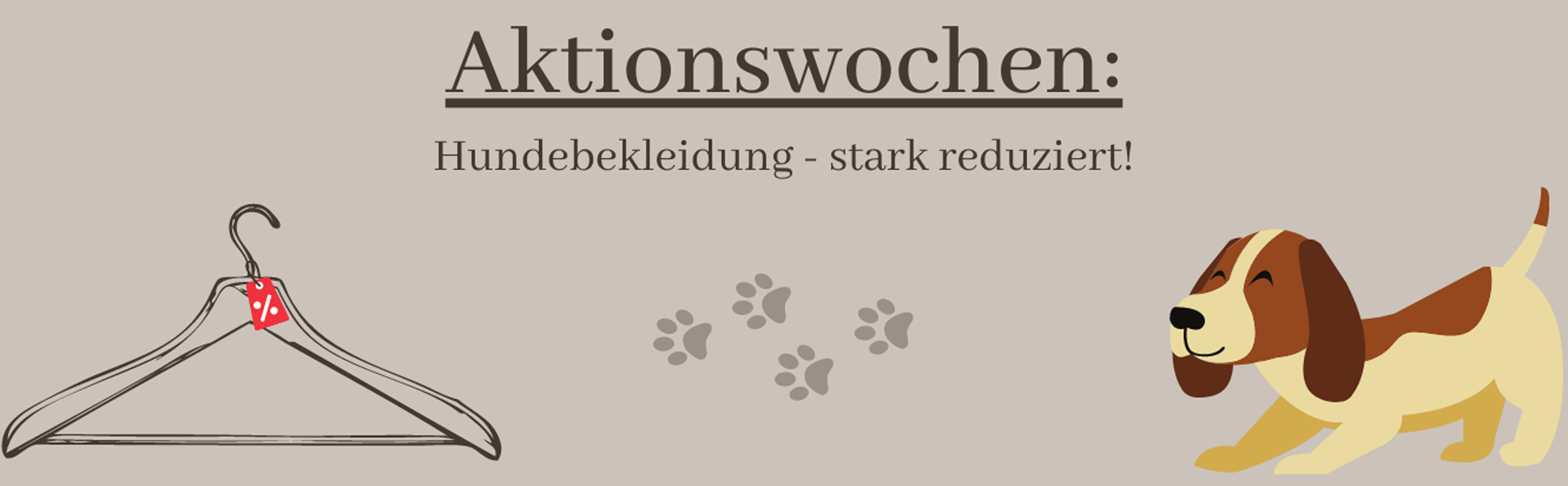 Aktionswochen Hundebekleidung