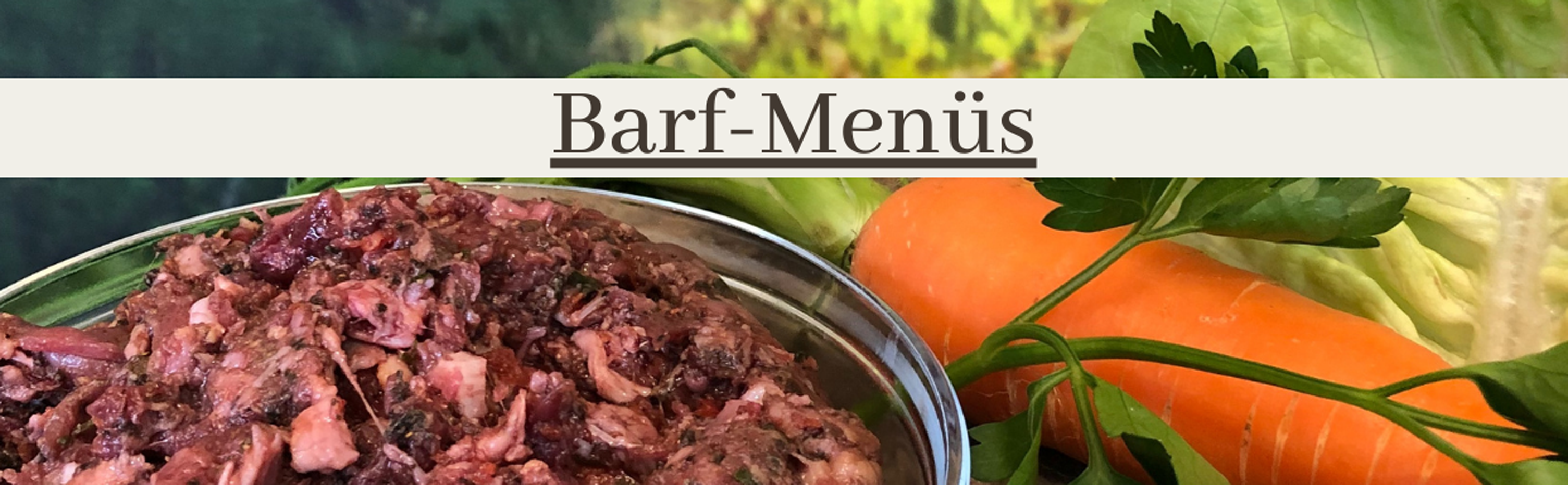Barf Menü